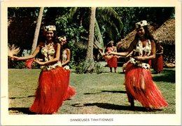 TAHITI - Danseuses Tahitiennes - Polynésie Française