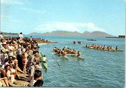 TAHITI - Fêtes Traditionnelles Du 14 Juillet - Courses De Pirogues à La Pagaie - Polynésie Française