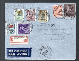 1949 Borgerhout Flower Charity Stamps > Indonesia Batavia (385) - Belgique