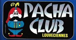 A.C PACHA CLUB Louveciennes - Pegatinas