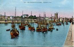 N°63909 -cpa Les Sables D'Olonne -entrée Du Port- - Sables D'Olonne