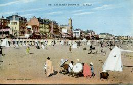 N°63911 -cpa Les Sables D'Olonne -la Plage- - Sables D'Olonne