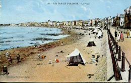 N°63913 -cpa Les Sables D'Olonne -la Plage- - Sables D'Olonne