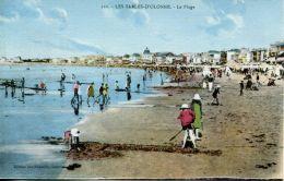N°63914 -cpa Les Sables D'Olonne -la Plage- - Sables D'Olonne