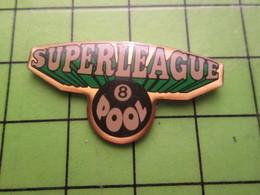 718B Pin's Pins / Beau Et Rare : Thème SPORTS / BILLARD SUPERLEAGUE 8 POOL - Billard