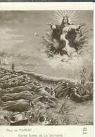 Cpa Notre Dame De La Victoire Par Paul De Plument , Guerre 14 - Heimat