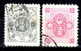 Corea-008 - Emissione 1900-05 (o) Used - Senza Difetti Occulti. - Corea (...-1945)