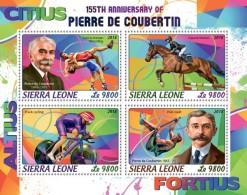 Sierra Leone 2018  Pierre De Coubertin Olympics Games  S201806 - Sierra Leone (1961-...)