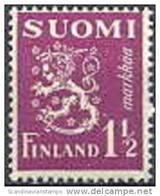 Finland 1930 1.50 Violet Leeuwen Type II PF-MNH-NEUF - Unused Stamps