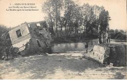 ASSIS-sur-SERRE : Le Moulin Apres Le Bombardement - Tres Bon Etat - France