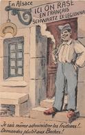 """Illustrateur """"GRIFF"""" - En Alsace - Je Sais Même Administrer Les Frictions !..- Demandez Plutôt Aux Boches ! - Militaire - Griff"""