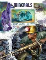 Sierra Leone 2018   Minerals  S201806 - Sierra Leone (1961-...)