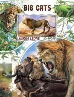 Sierra Leone 2018   Big Cats  S201806 - Sierra Leone (1961-...)