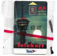 Norway - Telenor - Tyholt 65 - N-007C (Cn. 42365 Batch No), SC5, 01.1992, 2.000ex, NSB - Norway