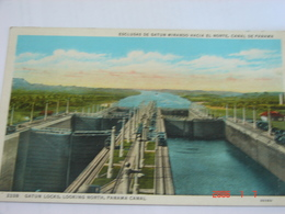 C.P.A.- Amérique - Panama - Le Canal - Esclusas De Gatun Mirando Hacia El Norte - 1954 - SUP (AK 60) - Panama