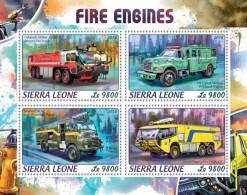 Sierra Leone 2018   Fire Engines   S201806 - Sierra Leone (1961-...)