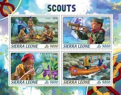 Sierra Leone 2018  Scouts    S201806 - Sierra Leone (1961-...)