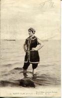 N°63923 -cpa Bassin D'Arcachon -baigneuse- - Arcachon
