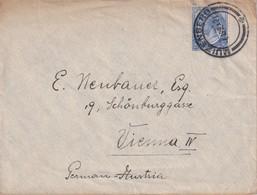 UNION SUD-AFRICAINE 1921 LETTRE DE MUIZENBERG POUR VIENNE - África Del Sur (...-1961)