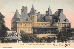 VICHY : Chateau De Randan, Facade - Tres Bon Etat - Vichy