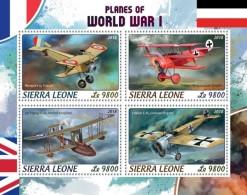 Sierra Leone 2018   Planes Of World War I  S201806 - Sierra Leone (1961-...)