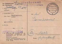 AUTRICHE 1944 CARTE EN FRANCHISE DE VIENNE - Briefe U. Dokumente