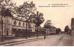 PONTARLIER : Usines Pernod, Route De La Cliuse, Absinthe - Tres Bon Etat - Pontarlier