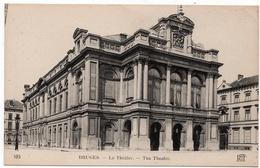 Bruges : Le Théatre (ND Phot. N°105 - Neurdein Frères, Imp. Crété, Paris) - Brugge