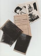 REGGIO EMILIA N.7 FOTO MILITARI CM. 6X5 + 7 NEGATIVI DI CUI 5 NON SVILUPPATI  CASERMA CIALDINI E ADDESTRAMENTO 1939 (?) - Krieg, Militär