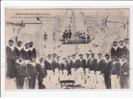 BEAUVOIR-sur-MER : A La Fete-dieu Le Reposoir Des Marins 23 Juin 1903 - Très Bon état - Beauvoir Sur Mer
