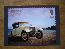 Jersey, Club Automobile Ancien, Rolls-Royce 20 1928 - Timbres (représentations)