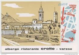 ITALIE - VARESE - Albergo Ristorante CROTTO - Varese