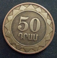 Armenie 50 Dram 2003 - KM 94 - Agouz - Arménie