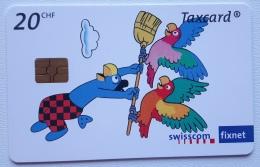 Globi's Parrots, Chip Gem5(red) Switzerland - Switzerland