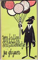 Jos Ghysen Een Ballon, Een Ballon, Een Ballonnetje 1964  Clauwaert Uitgave - Literatuur