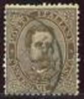 I.REGNO - ANNO 1879 - EFFIGIE RE UMBERTO I° - GRANDE RARITA' - 30 C. BRUNO - SASS. 41 - 3 CERTIFICATI - Usati