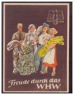 DT-Reich (006762) Propagandakarte, Türblatt, Freude Durch Das WHW 1937/ 1938 - Germany
