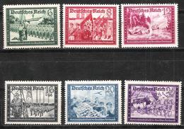 Reich N° 697 à 702 Neufs ** - Allemagne