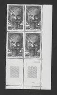 FRANCE / 1980 / Y&T N° 2098 ** : Frédéric Mistral X 4 En Bloc - Gomme D'origine Intacte - France