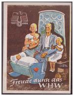 DT-Reich (006764) Propagandakarte, Türblatt, Freude Durch Das WHW 1937/ 1938 - Germany