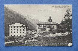 Cartolina Valgrisenche - Il Capoluogo - 1910 Ca. - Italia