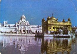 Calcutta - Cartolina GIBSON LANE, GOLDEN TEMPLE AMRITSAR, PUNJAB , Anni '80 - P65 - India