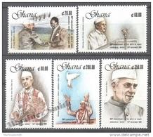 Ghana 1989 Yvert 1080-84, Centenary Birth Of Jawaharlal Nehru - MNH - Ghana (1957-...)