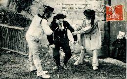 N°63939 -cpa La Bretagne Pittoresque -soir De Noce- - Bretagne