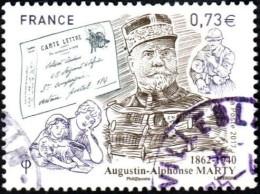 Oblitération Cachet à Date Sur Timbre De France N° 5190 - Inspecteur Général Des PTT - Augustin-Alphonse Marty - Frankreich