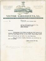 EIBAR 1953 - VICTOR SARASQUETA S.L. - Fabrica De Escopetas Finas - Espagne