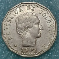 Colombia 50 Centavos, 1971 ↓price↓ - Colombia