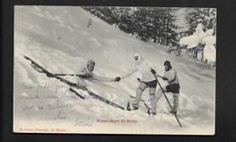 Saint Moritz Winter-Sport -  Vallée De L'Engadine Alpes Suisses Canton De Grisons - CPSM Suisse - GR Grisons