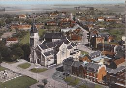 CHAULNES L'église Vue Aérienne - Chaulnes