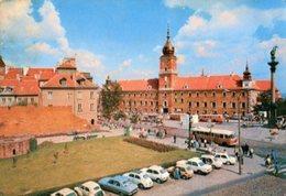 Varsavia - Cartolina ZAMEK KRÓLEWSKI (fot. Araszkiewicz) - P65 - Polonia